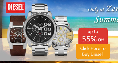 Save up to 55% on all Diesel Watches during our Summer Sale